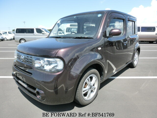 used 2009 nissan cube 15x dba z12 for sale bf541769 be forward. Black Bedroom Furniture Sets. Home Design Ideas