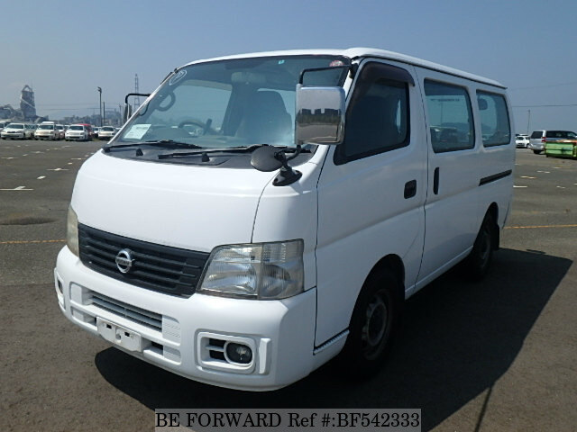 used 2004 nissan caravan van kg vwe25 for sale bf542333 be forward. Black Bedroom Furniture Sets. Home Design Ideas