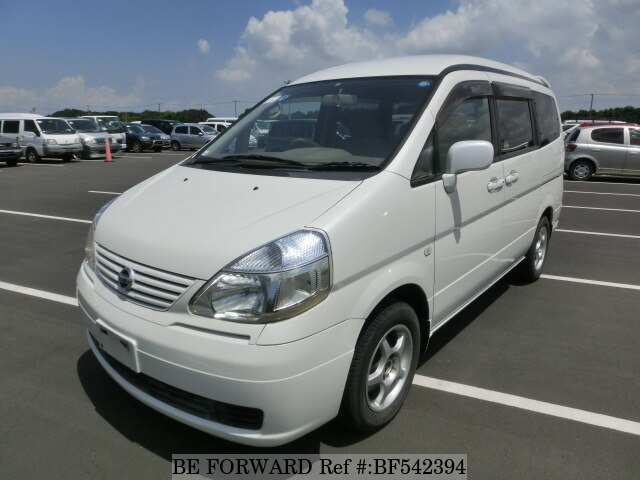 used 2002 nissan serena ua tc24 for sale bf542394 be forward. Black Bedroom Furniture Sets. Home Design Ideas