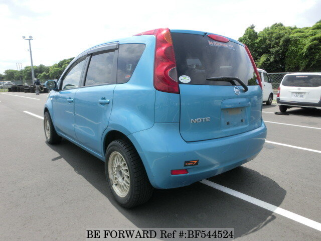 used 2010 nissan note dba e11 for sale bf544524 be forward. Black Bedroom Furniture Sets. Home Design Ideas
