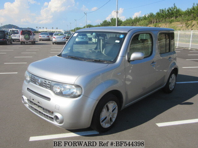 used 2009 nissan cube 15x dba z12 for sale bf544398 be forward. Black Bedroom Furniture Sets. Home Design Ideas