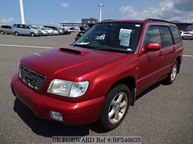 used 2001 subaru forester s tb gf sf5 for sale bf546635 be forward. Black Bedroom Furniture Sets. Home Design Ideas