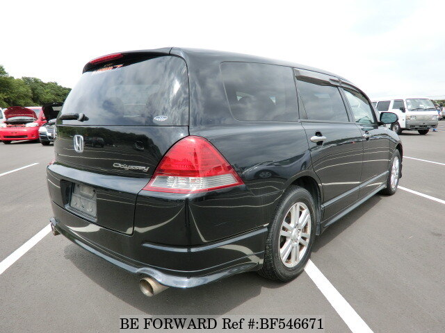 used 2003 honda odyssey absolute la rb1 for sale bf546671 be forward. Black Bedroom Furniture Sets. Home Design Ideas