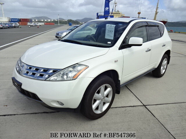 used 2008 nissan murano 250xl cba tz50 for sale bf547366 be forward. Black Bedroom Furniture Sets. Home Design Ideas