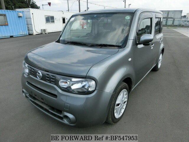 used 2012 nissan cube 15x dba z12 for sale bf547953 be forward. Black Bedroom Furniture Sets. Home Design Ideas