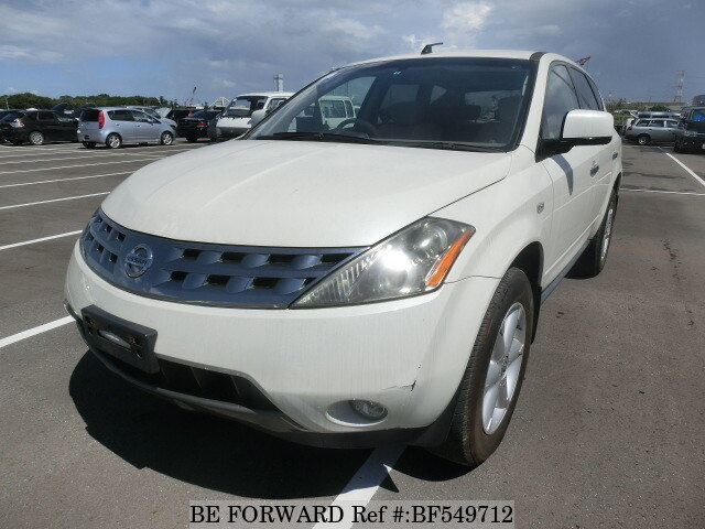 used 2005 nissan murano cba tz50 for sale bf549712 be. Black Bedroom Furniture Sets. Home Design Ideas