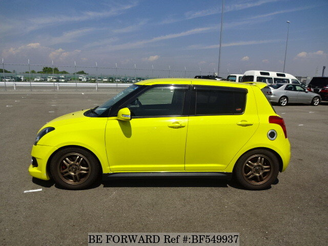 used 2008 suzuki swift sport cba zc31s for sale bf549937 be forward. Black Bedroom Furniture Sets. Home Design Ideas