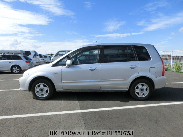 used 2003 mazda premacy ta cp8w for sale bf550753 be forward. Black Bedroom Furniture Sets. Home Design Ideas