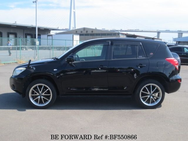 used 2007 toyota rav4 g dba aca36w for sale bf550866 be forward. Black Bedroom Furniture Sets. Home Design Ideas