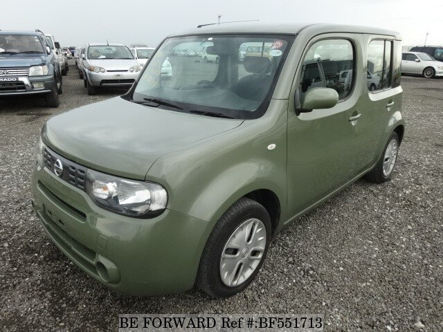 used 2010 nissan cube 15s dba z12 for sale bf551713 be forward. Black Bedroom Furniture Sets. Home Design Ideas