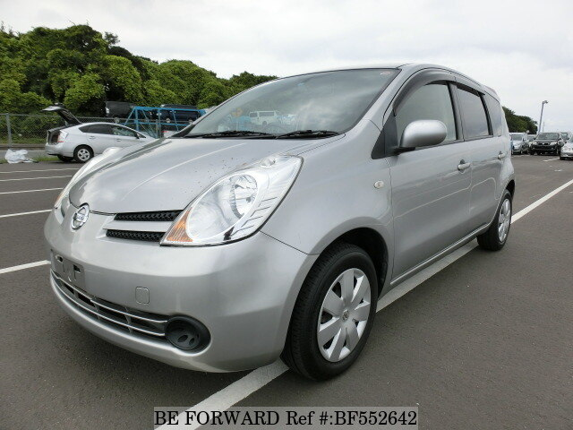 used 2007 nissan note 15m dba e11 for sale bf552642 be forward. Black Bedroom Furniture Sets. Home Design Ideas