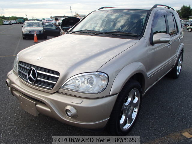 Used 2001 mercedes benz m class ml320 gf 163154 for sale for Mercedes benz suv 2001