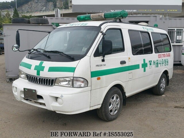 2003 kia pregio ambulance d 39 occasion en promotion is553025 be forward. Black Bedroom Furniture Sets. Home Design Ideas