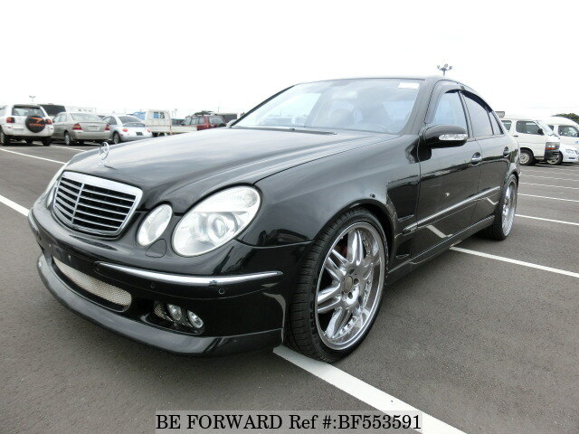 used 2003 mercedes benz e class e320 brabus 211065c for. Black Bedroom Furniture Sets. Home Design Ideas