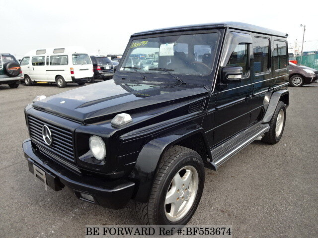 Used 1999 mercedes benz g class gelande wagen 300ge long for Mercedes benz g class for sale cheap