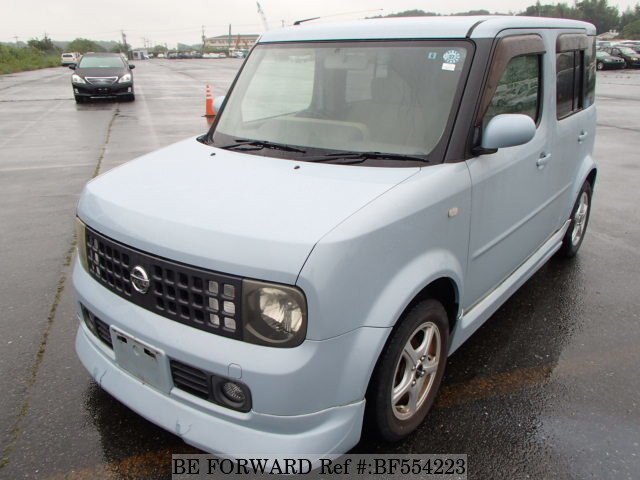used 2003 nissan cube sx 70th anniversary ua bz11 for sale bf554223 be forward. Black Bedroom Furniture Sets. Home Design Ideas