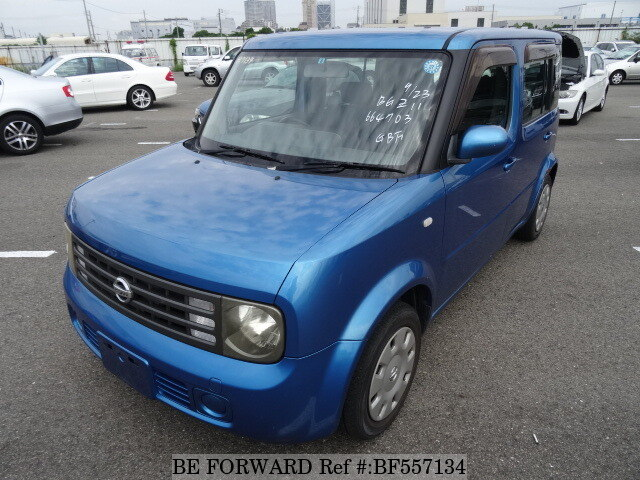 used 2005 nissan cube cubic sx cba bgz11 for sale bf557134 be forward. Black Bedroom Furniture Sets. Home Design Ideas