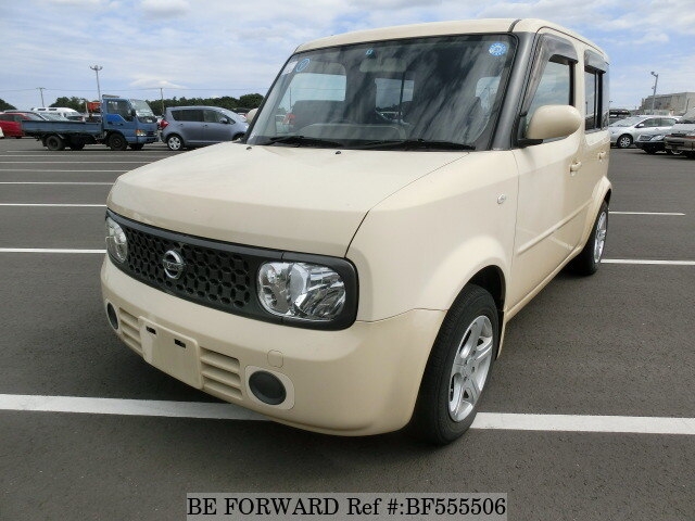 used 2007 nissan cube 15m dba yz11 for sale bf555506 be forward. Black Bedroom Furniture Sets. Home Design Ideas