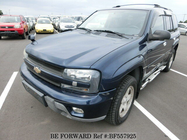 used 2008 chevrolet trailblazer lt gh t360g for sale bf557925 be forward. Black Bedroom Furniture Sets. Home Design Ideas