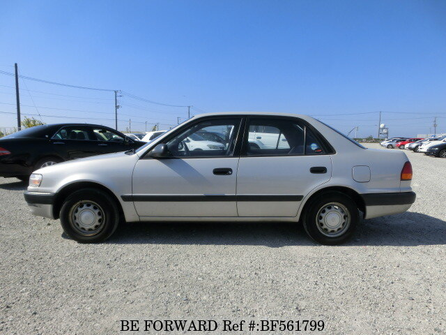 used 1996 toyota corolla sedan e ae110 for sale bf561799 be forward. Black Bedroom Furniture Sets. Home Design Ideas