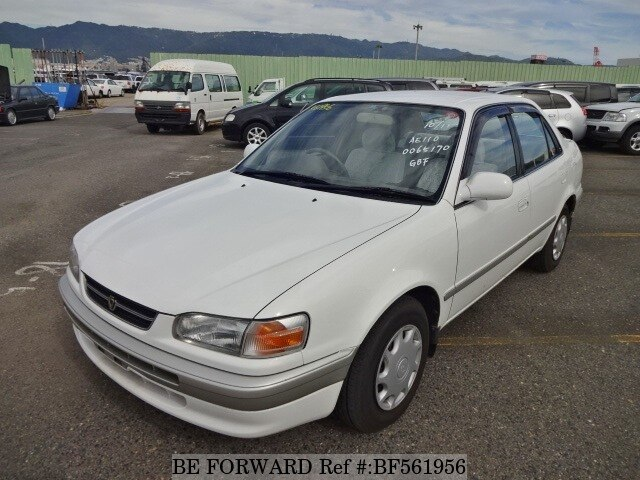 used 1996 toyota corolla sedan xe saloon e ae110 for sale bf561956 be forward. Black Bedroom Furniture Sets. Home Design Ideas