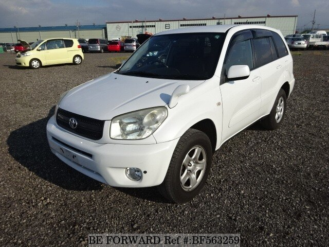 used 2004 toyota rav4 x type limited cba zca26w for sale bf563259 be forward. Black Bedroom Furniture Sets. Home Design Ideas