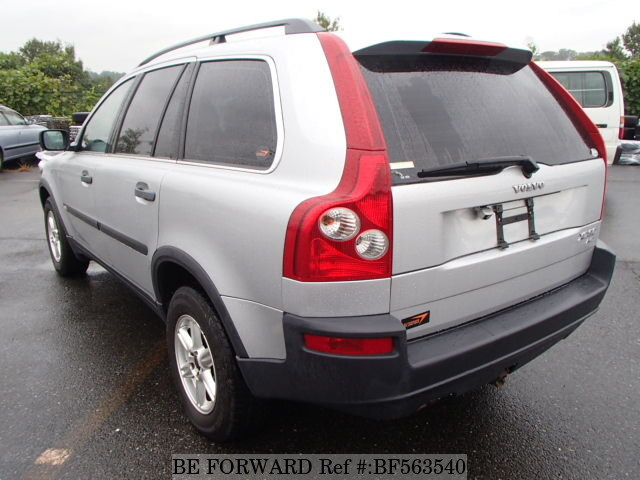 used 2004 volvo xc90 2 5t la cb5254aw for sale bf563540 be forward. Black Bedroom Furniture Sets. Home Design Ideas