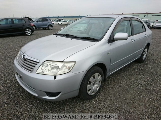 used 2006 toyota corolla sedan cba nze121 for sale bf564671 be forward. Black Bedroom Furniture Sets. Home Design Ideas