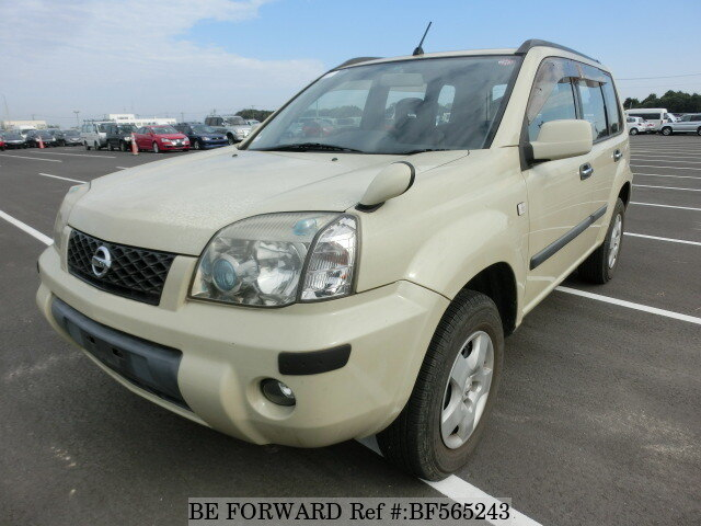 used 2003 nissan x trail s ua t30 for sale bf565243 be forward. Black Bedroom Furniture Sets. Home Design Ideas