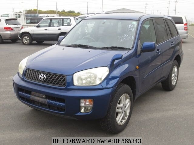 used 2001 toyota rav4 j x g package ta zca26w for sale bf565343 be forward. Black Bedroom Furniture Sets. Home Design Ideas