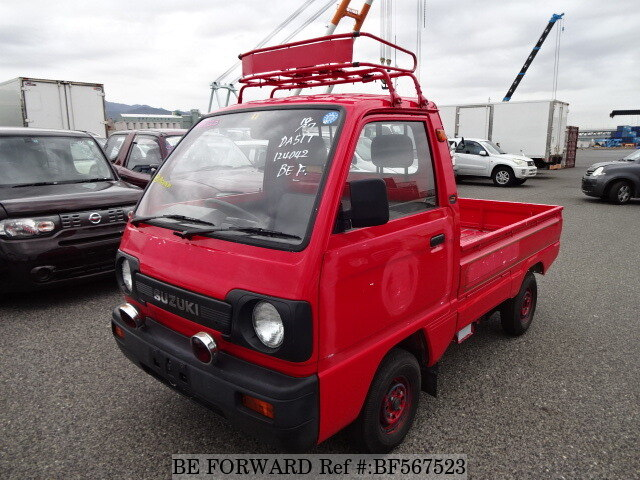 Tire Rack Coupon Code >> Used 1990 SUZUKI CARRY TRUCK/M-DA51T for Sale BF567523 - BE FORWARD