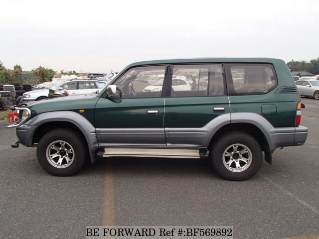 used 1996 toyota land cruiser prado tz kd kzj95w for sale. Black Bedroom Furniture Sets. Home Design Ideas