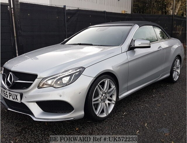 Used 2015 Mercedes Benz E Class E350 Amg Cabriolet For
