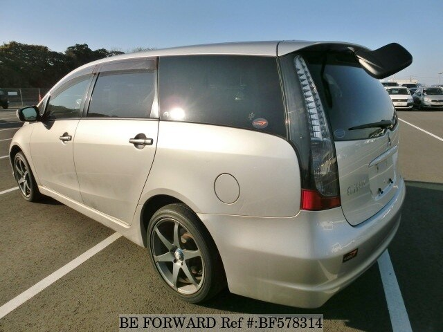 used 2003 mitsubishi grandis sports ua na4w for sale bf578314 be forward. Black Bedroom Furniture Sets. Home Design Ideas