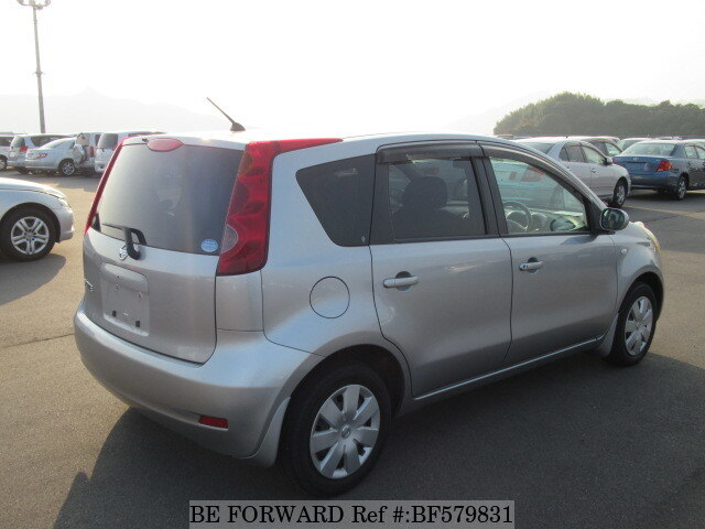 used 2007 nissan note dba e11 for sale bf579831 be forward. Black Bedroom Furniture Sets. Home Design Ideas