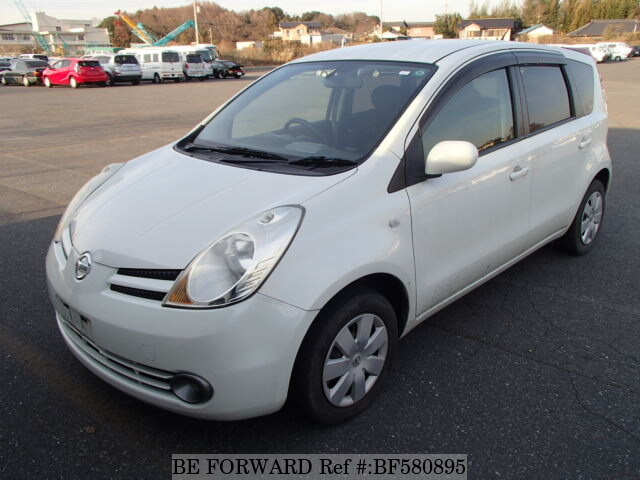 used 2007 nissan note dba e11 for sale bf580895 be forward. Black Bedroom Furniture Sets. Home Design Ideas
