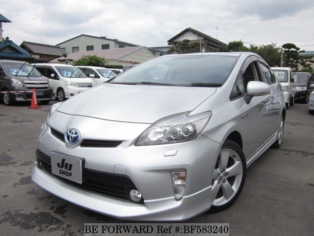 Used 2012 TOYOTA PRIUS BF583240 for Sale