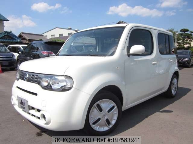 used 2009 nissan cube dba z12 for sale bf583241 be forward. Black Bedroom Furniture Sets. Home Design Ideas