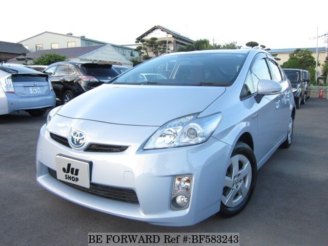 Used 2009 TOYOTA PRIUS BF583243 for Sale