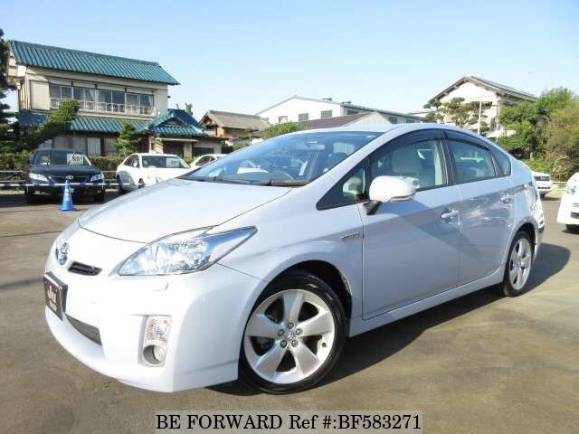 Used 2010 TOYOTA PRIUS BF583271 for Sale