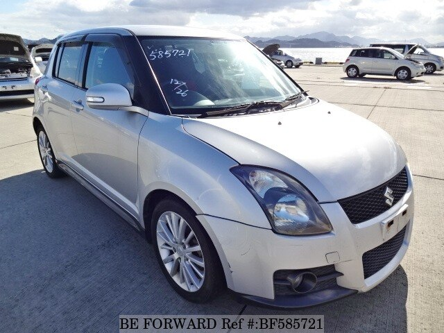 used 2007 suzuki swift sport cba zc31s for sale bf585721 be forward. Black Bedroom Furniture Sets. Home Design Ideas