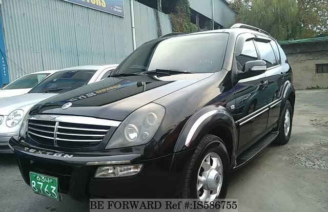 2005 ssangyong rexton rx5 d 39 occasion en promotion is586755 be forward. Black Bedroom Furniture Sets. Home Design Ideas