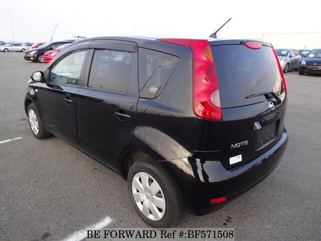 used 2010 nissan note 15g dba e11 for sale bf571508 be forward. Black Bedroom Furniture Sets. Home Design Ideas