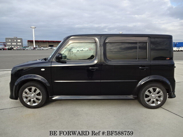 used 2008 nissan cube cubic rider dba ygz11 for sale bf588759 be forward. Black Bedroom Furniture Sets. Home Design Ideas