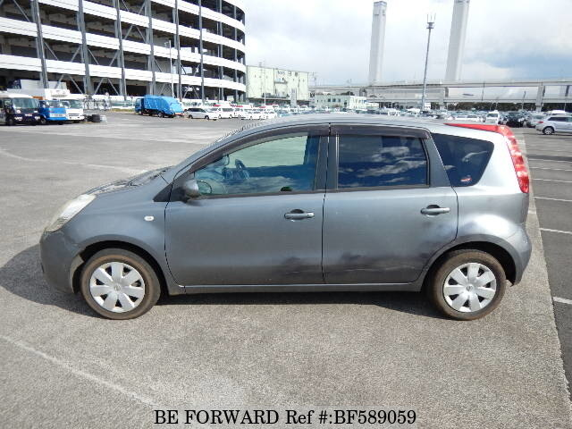 used 2006 nissan note dba e11 for sale bf589059 be forward. Black Bedroom Furniture Sets. Home Design Ideas