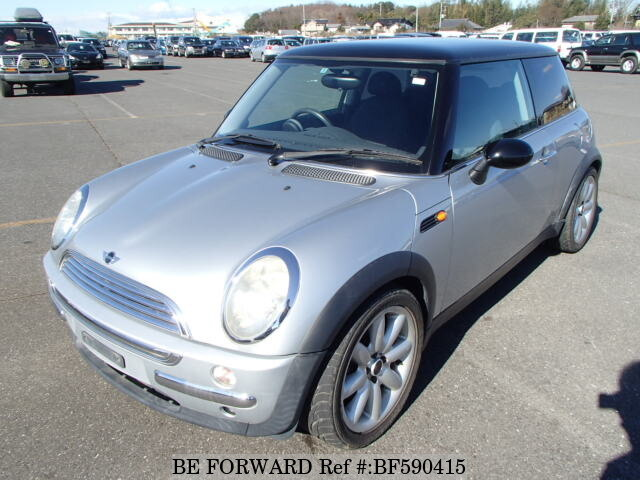 used 2002 bmw mini cooper gh ra16 for sale bf590415 be. Black Bedroom Furniture Sets. Home Design Ideas