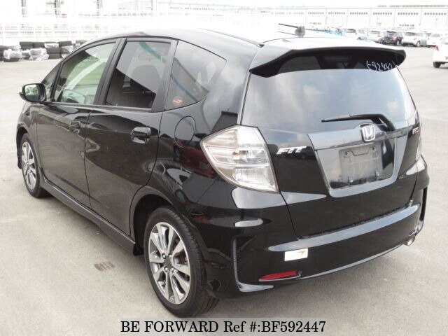 used 2012 honda fit rs 10th anniversary dba ge8 for sale bf592447 be forward. Black Bedroom Furniture Sets. Home Design Ideas