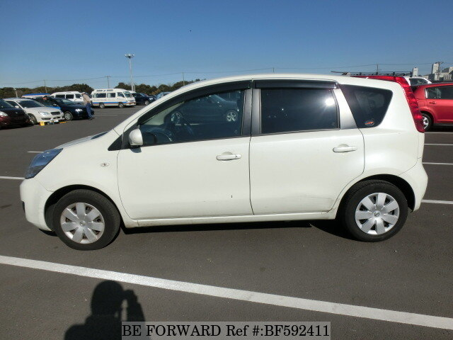 used 2010 nissan note dba e11 for sale bf592411 be forward. Black Bedroom Furniture Sets. Home Design Ideas