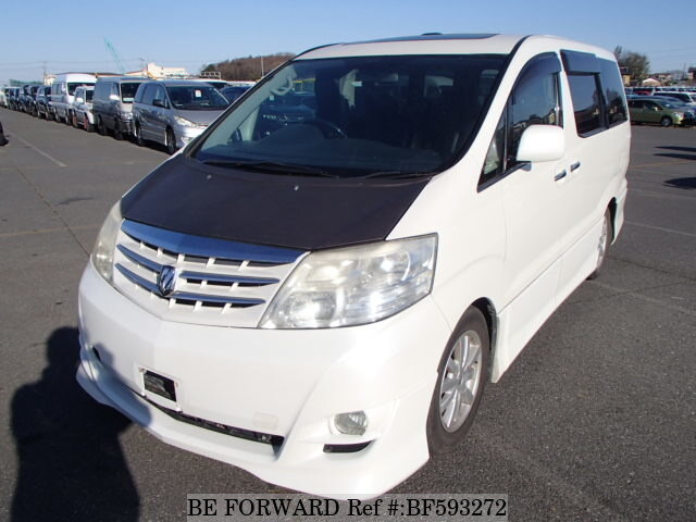 Used 2003 TOYOTA ALPHARD BF593272 for Sale
