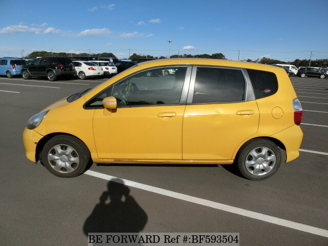 used 2005 honda fit 1 3a dba gd1 for sale bf593504 be forward. Black Bedroom Furniture Sets. Home Design Ideas
